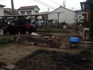 20141112庭解体見積り清須市