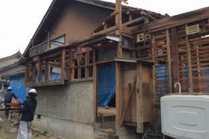 58.一級建築士も賞賛する木造一戸建ての解体工事!