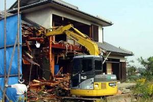 45.戸建ての解体工事について適正価格で対応します